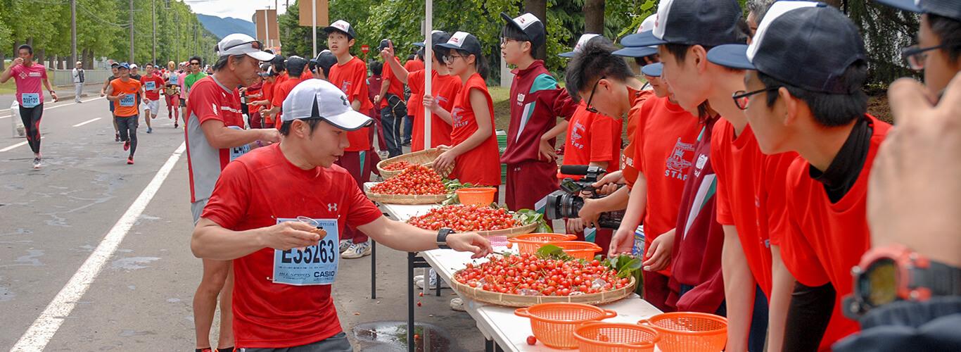 果樹園王国ひがしねさくらんぼマラソン大会